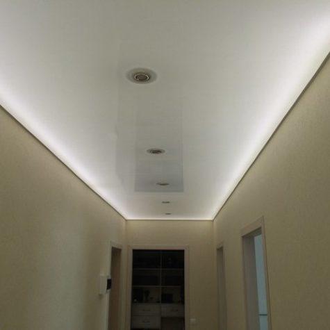 Внутренняя подсветка натяжного потолка